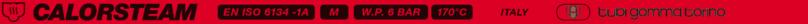 CALORSTEAM 170°C ISO 6134-1A