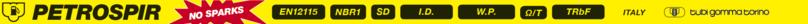 PETROSPIR SD/16 EN 12115 - NO SPARKS