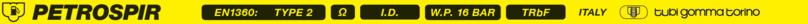 PETROSPIR SD/16 EN 1360 Type 2